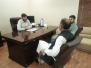 Deputy Commissioner Swabi Visit to President SCCI Office